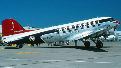 G-AMPY - Douglas C-47B Skytrain - Northwest Airlines (Air Atlantique)