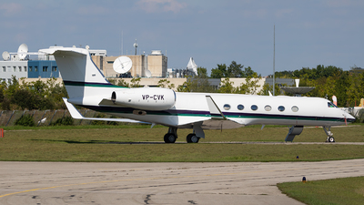 VP-CVK - Gulfstream G550 - Private