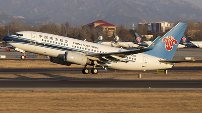 A picture of B5290 - Boeing 73771B - China Southern Airlines - © SEN BAI