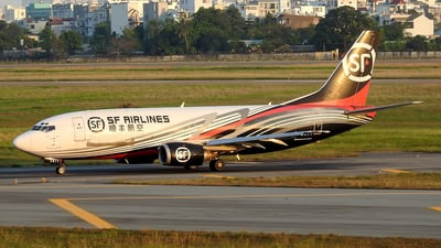 B-2877 - Boeing 737-33V - SF Airlines