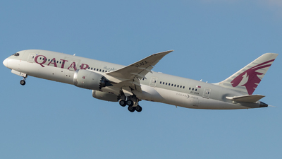 A picture of A7BCK - Boeing 7878 Dreamliner - Qatar Airways - © Egccarchie