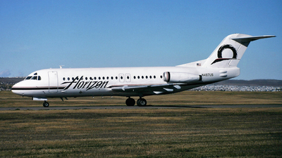 N487US - Fokker F28-4000 Fellowship - Horizon Air