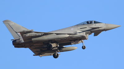 ZK313 - Eurofighter Typhoon FGR.4 - United Kingdom - Royal Air Force (RAF)