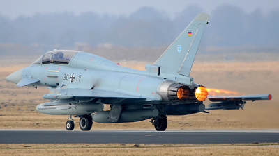 3017 - Eurofighter Typhoon EF2000(T) - Germany - Air Force
