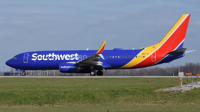 A picture of N8671D - Boeing 7378H4 - Southwest Airlines - © DJ Reed - OPShots Photo Team