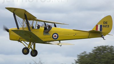 G-ANFI - De Havilland DH-82A Tiger Moth - Private