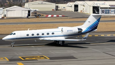 A picture of N77FK - Gulfstream IV - [1357] - © Jono Druion