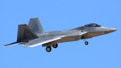 06-4122 - Lockheed Martin F-22A Raptor - United States - US Air Force (USAF)