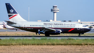 G-BKYF - Boeing 737-236(Adv) - British Airways