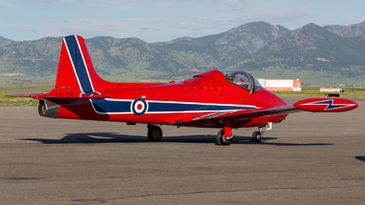 NX78SH - Hunting Percival Jet Provost T.5A - Private