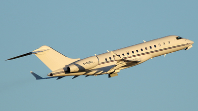 G-CGSJ - Bombardier BD-700-1A10 Global Express - TAG Aviation