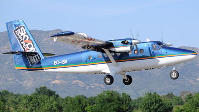 A picture of ECISV - De Havilland Canada DHC6200 Twin Otter - [205] - © Xevi