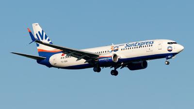 A picture of TCSEK - Boeing 7378HC - SunExpress - © Julian Azeroth