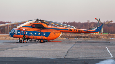 RA-22989 - Mil Mi-8TB Hip - Vologodskie Airlines