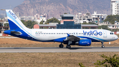 A picture of VTIEY - Airbus A320232 - IndiGo - © Rohan Paliwal
