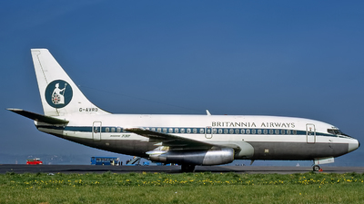 G-AVRO - Boeing 737-204 - Britannia Airways