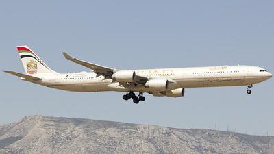 A6-EHF - Airbus A340-642 - Etihad Airways