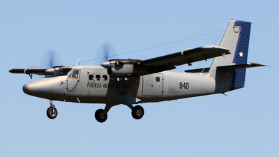 940 - De Havilland Canada DHC-6-100 Twin Otter - Chile - Air Force