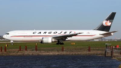 A picture of CGVIJ - Boeing 767328(ER)(BDSF) - Cargojet Airways - © Dave Potter