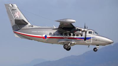 2710 - Let L-410UVP-E20D Turbolet - Czech Republic - Air Force