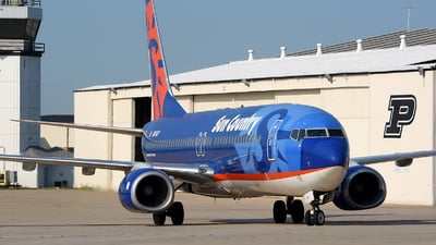 A picture of N814SY - Boeing 7378BK - Sun Country Airlines - ©  JC