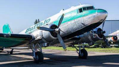 A picture of CGWZS - Douglas DC3C - Buffalo Airways - © Alex Praglowski
