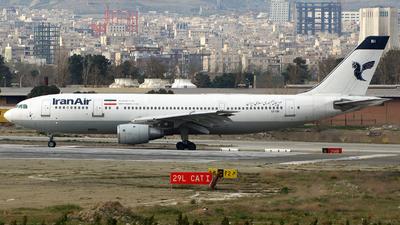 EP-IBI - Airbus A300B4-2C - Iran Air