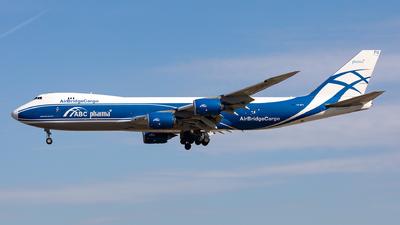 A picture of VQBFU - Boeing 74783Q(F) - AirBridgeCargo Airlines - © Sebastian Sowa