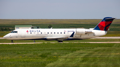 N659BR - Bombardier CRJ-200ER - Delta Connection (SkyWest Airlines)