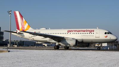D-AGWM - Airbus A319-132 - Germanwings