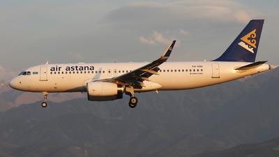P4-KBG - Airbus A320-232 - Air Astana