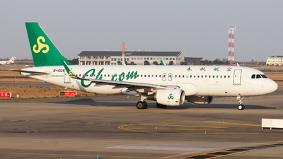 A picture of B1025 - Airbus A320214 - Spring Airlines - © Charlie-Aviationphotography