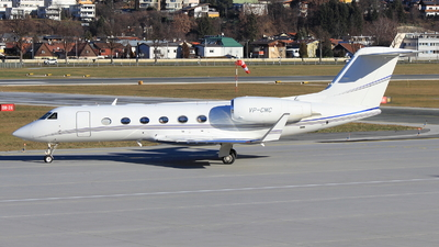 VP-CMC - Gulfstream G450 - Private
