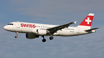 A picture of HBJLP - Airbus A320214 - Swiss - © Hanjo Schrenk