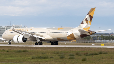 A6-BNA - Boeing 787-9 Dreamliner - Etihad Airways
