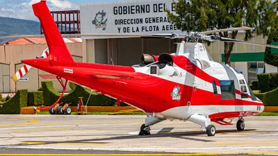 XC-FUJ - Agusta A109K2 - Mexico - Government