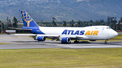 A picture of N499MC - Boeing 74747UF - Atlas Air - © Juan Andres Saavedra