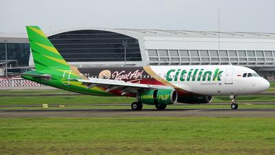 PK-GLC - Airbus A320-233 - Citilink