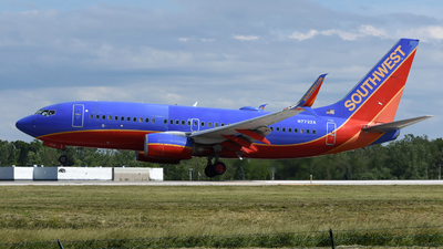 A picture of N7732A - Boeing 7377BD - Southwest Airlines - © DJ Reed - OPShots Photo Team