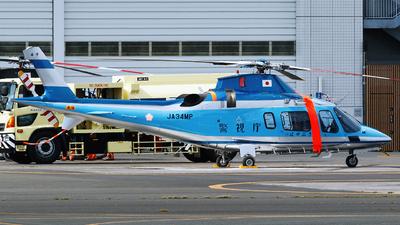 JA34MP - Agusta A109E Power - Japan - Police