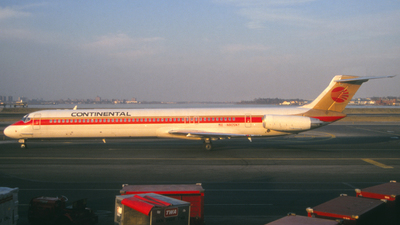 N805NY - McDonnell Douglas MD-82 - Continental Airlines