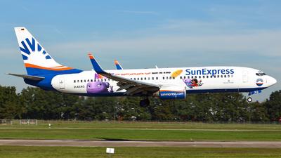 D-ASXG - Boeing 737-8CX - SunExpress Germany