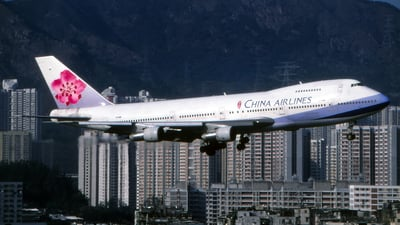 B-1866 - Boeing 747-209B - China Airlines