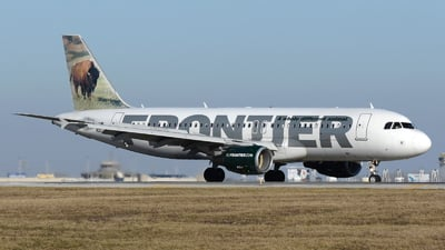 N207FR - Airbus A320-214 - Frontier Airlines
