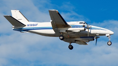 A picture of N199AF - Beech B99 Airliner - Ameriflight - © Eric Page Lu
