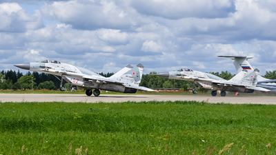 RF-92923 - Mikoyan-Gurevich MiG-29SMT Fulcrum C - Russia - Air Force