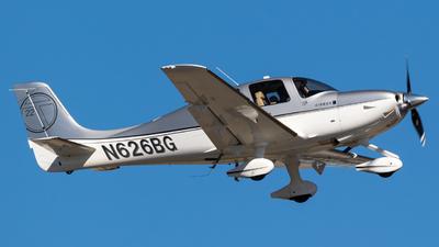N626BG - Cirrus SR22T - Private