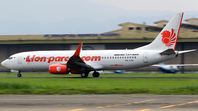 PK-LPK - Boeing 737-8GP - Lion Air