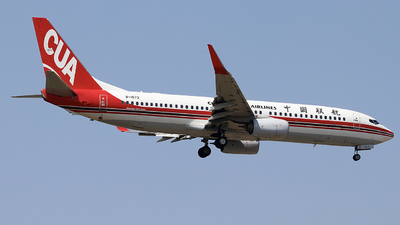 A picture of B1573 - Boeing 73789P - China United Airlines - © Palpa Wang