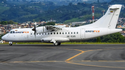 A picture of HK5315 - ATR 42600 - EasyFly - © Omar Zapata